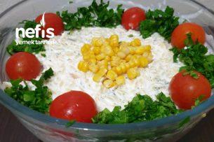Yoğurtlu Tavuklu Şehriye Salatası Tarifi