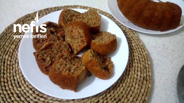 Bol Cevizli Bol Havuçlu Bol Tarçınlı Kek