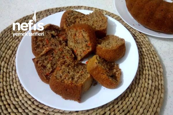 Bol Cevizli Bol Havuçlu Bol Tarçınlı Kek Tarifi