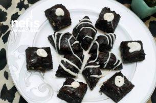 Çikolatalı Çıtır Baklava (Alışılmışın Dışında Efsane Lezzet) Tarifi