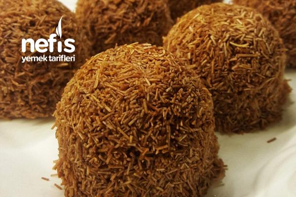 Çikolatalı Çıtır Kadayıf Tatlısı (Çok Kolay Tatlı) Tarifi
