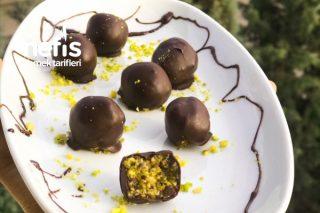 Baklava Tadında Çikolata Topları Tarifi
