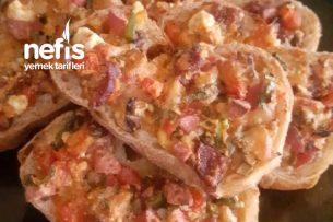 Ekmek Üzeri Pizza Tarifi