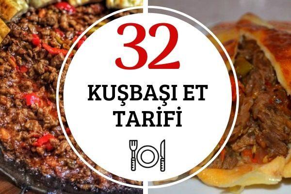 Kuşbaşı Et Yemekleri: Lokum Kıvamında 32 Tarif Tarifi