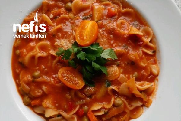 Minostrone ( İtalyan Mutfağı Hayranları İçin) Tarifi