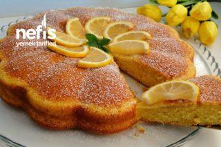 Rengine Hayran Kalacağınız Limonlu Kek Tarifi