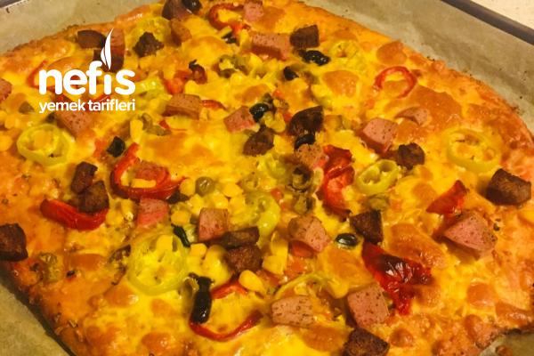 Evde Pizza Keyfi Tarifi