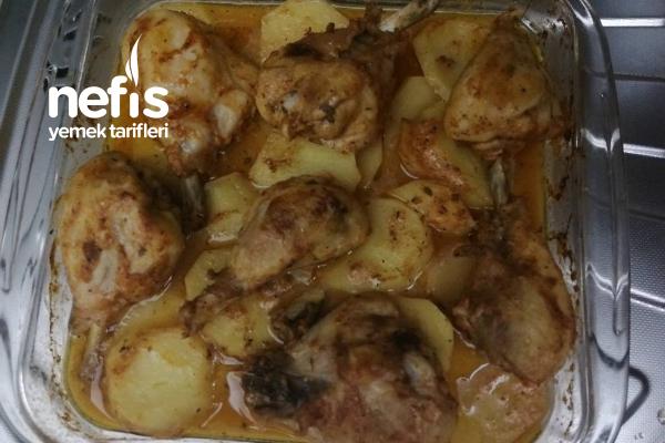Fırında Patatesli Tavuk Tandır Tarifi