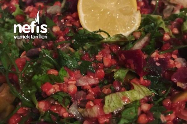 Glutensiz Pancarlı Karabuğday Salatası Tarifi
