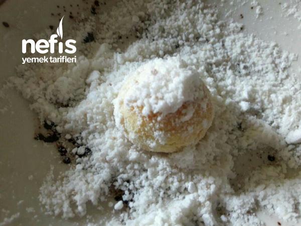 Margarinsiz Pişmaniye Kurabiye ve sadece 10 dakikada hazır