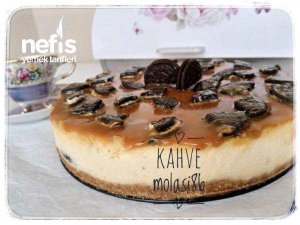 Oreolu Karamelli Cheesecake