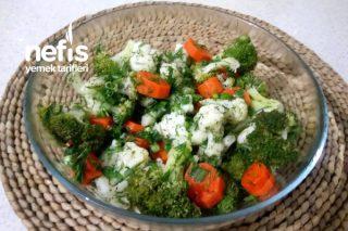 Brokoli Karnabahar Salatası (Videolu) Tarifi