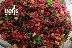 Bulgurlu Şalgam Salatası Tarifi