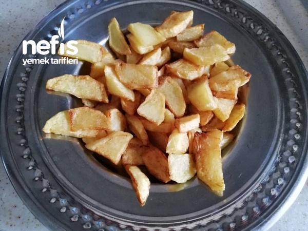 Kıyma Soslu Patates Kızartması