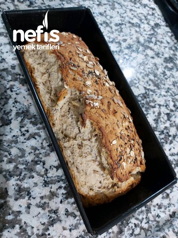Baton Kalıpta Çok Tahıllı Diyet Ekmeği