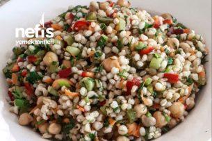 Nohutlu Buğday Salatası Tarifi
