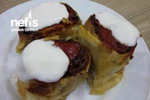 Patlıcanlı Rulo Köfte Tarifi