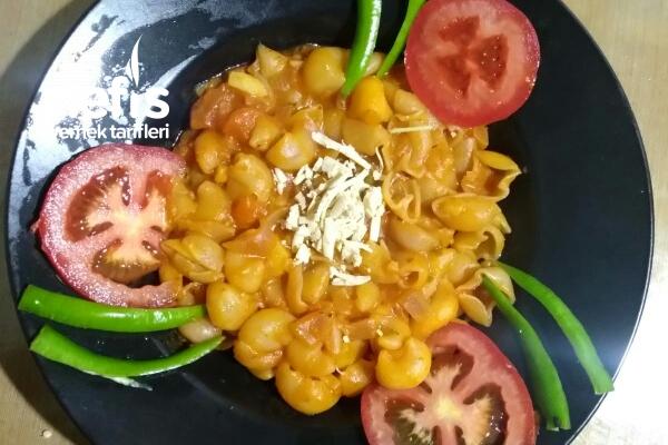 Düşük Proteinli Sebzeli Makarna Tarifi