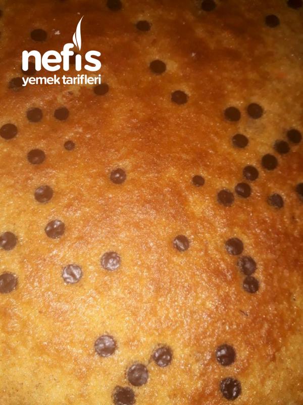 Havuçlu Tarçınlı Damla Çikolatalı Kek