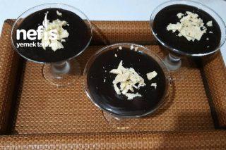 Meyveli Çikolatalı Puding Tarifi