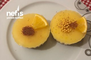 Mini Limonlu Cheesecake Tarifi