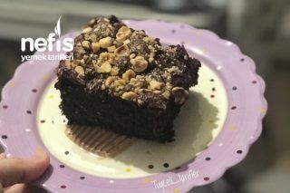 Nutella Dolgulu Fındıklı Parça Çikolatalı Kek Tarifi