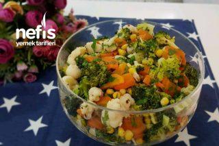 Sebzeli Kış Salatası Tarifi