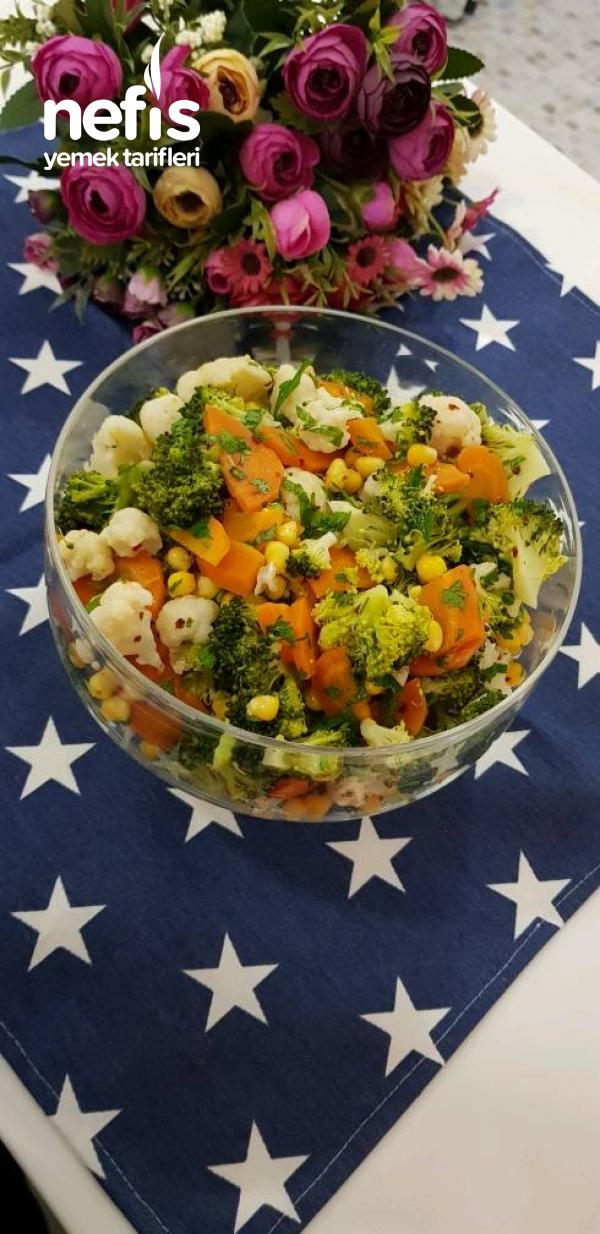 Sebzeli Kış Salatası