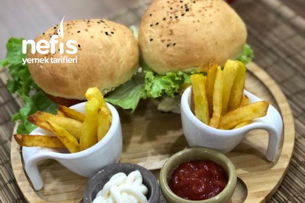 Ev Yapımı Pratik Sağlıklı Hamburger Tarifi