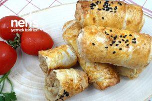 Fırında Tavuk Etli Börek (Videolu) Tarifi