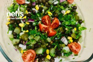 Siyah Nohut Salatası Tarifi