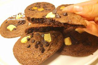 Aman Dikkat !! Bu Kurabiye Çok Yediriyor - Çikolatalı Cookie (Videolu) Tarifi