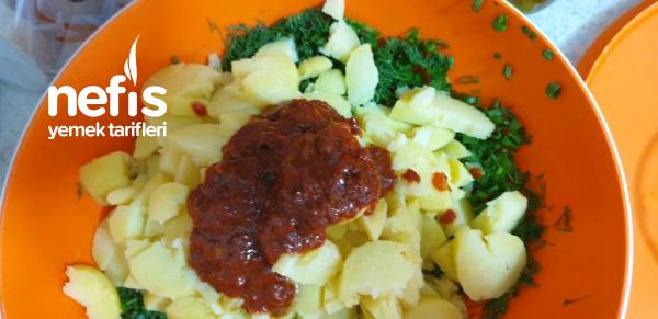 Salçalı Patates Salatası