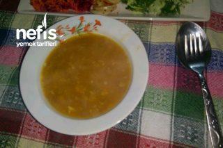 Yeşil Mercimekli Tarhana Çorbası Tarifi