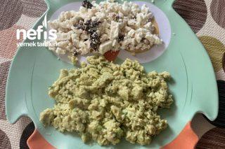 Bebeklere Avakadolu~Dereotlu Omlet (+6ay) Tarifi