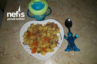 Besleyici Kıymalı Sebze Yemeği (+1yaş Üstü) Tarifi
