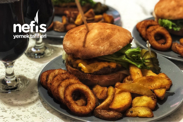 Muhteşem Hamburger Menüm Tarifi