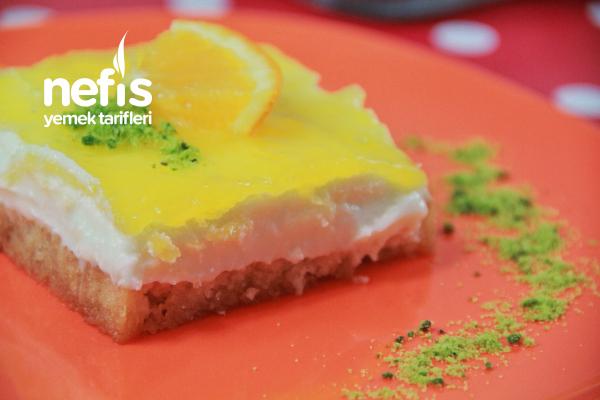Portakal Soslu Etimek Tatlısı (Videolu) Tarifi
