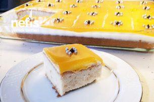 Portakal Soslu Muhallebili Pasta Tarifi