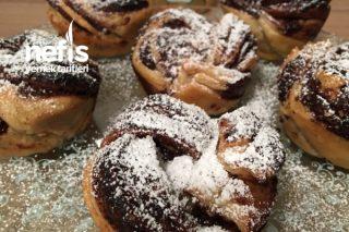 Çikolatalı Milföy Muffin Tarifi
