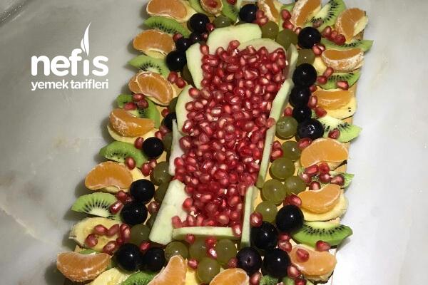 Müthiş Meyve Sunumu Tarifi