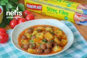 Patatesli Sulu Köfte Yemeği Videosu Tarifi