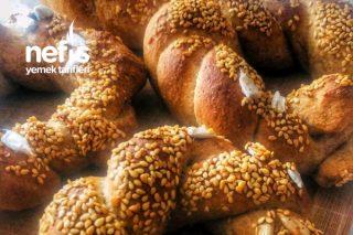 Tam Buğdaylı Kahvaltıya Yakışır Harika Çıtır Çıtır Simit Tarifi