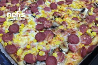 Bol Malzemeli Pizza Tarifi