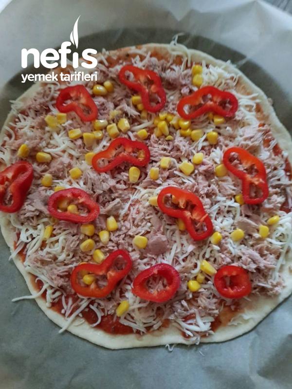 Derin Donrucu İcin Pizza