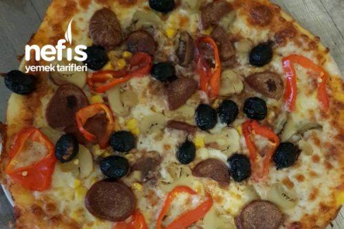 Derin Dondurucu İçin Pizza Tarifi
