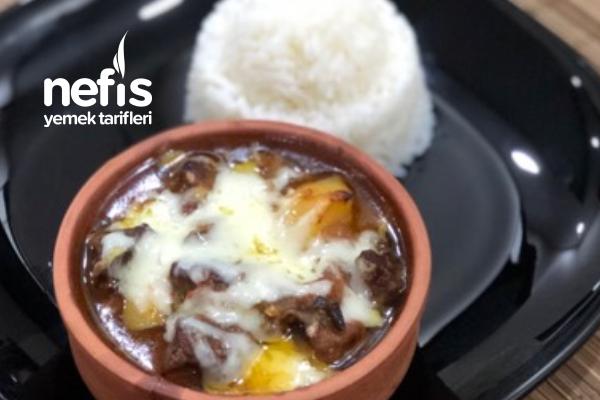 Güveçte Etli Patates Tarifi