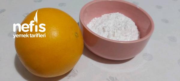 Portakal Glazürlü Kurabiyeler