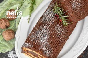 Pratik Kütük Pasta (Buche De Noel) Tarifi