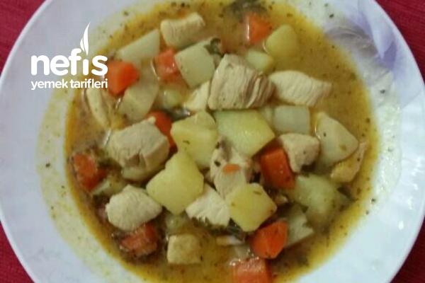 Tavuklu Kereviz Yemeği (Kereviz Sevmeyenlere Yedirmek İçin Birebir) Tarifi